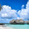 Biele pláže Maldív