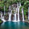 Kaskádové vodopády Cascade de la Grand Ravin