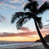 Západ slnka na prekrásnych plážach ostrova