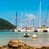 Prístav jácht na ostrove Praslin