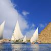 Plavba po Níle na feluke