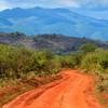 Pestrá krajina národného parku Tsavo West