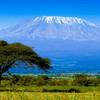 Národný park Amboseli s výhľadom na Kilimandžáro