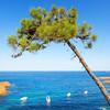 Skrytá pláž na Francúzskej riviére