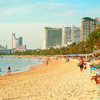 Pattaya pláž Jomtien