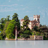 Ostrov Loreto v jazere Iseo