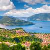 Mesto Marone pri jazere Iseo