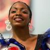 Tradičná kubánska folklórna tanečnica