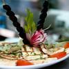 Cyperský syr haloumi s paradajkami a olivami