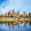 Chrámový komplex Angkor Wat - Kambodža
