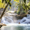 Vodopády Kuang Si - Laos