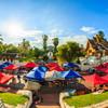Trhy v meste Luang Prabang - Laos