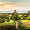Starobylé chrámové mesto Bagan - Mjanmarsko