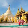 Areál pagody Shwedagon - Mjanmarsko