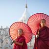 Budhistickí mnísi v Mjanmarsku
