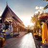 Wat Rong Khun v meste Chiang Mai - Thajsko