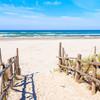 Pláž Debki na pobreží Baltského mora