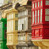 Maltské balkóny