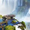 Turisti na brazílskej strane