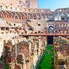 Koloseum z vnútra