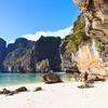 Slávna filmová pláž Thajska