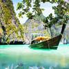 Nádherne čistá voda na Maya Bay
