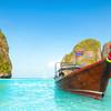 Tradičná thajská loďka