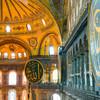 Slávny interiér Hagia Sofie