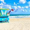 Ikonická scenéria Miami South Beach