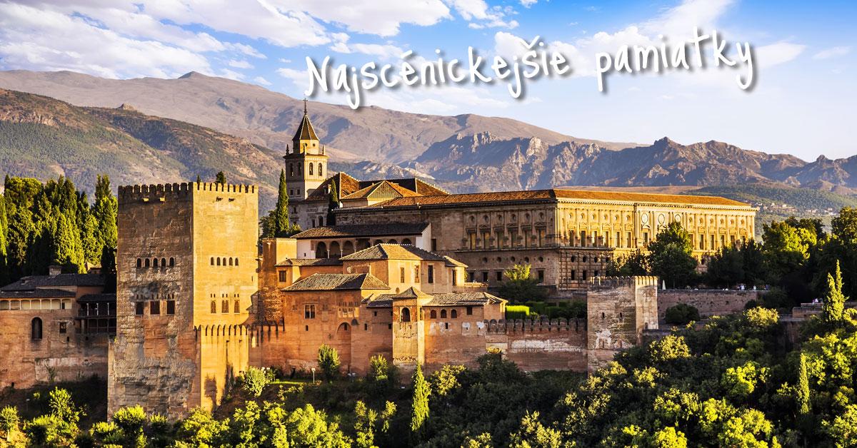 Alhambra - Červený hrad mesta Granada