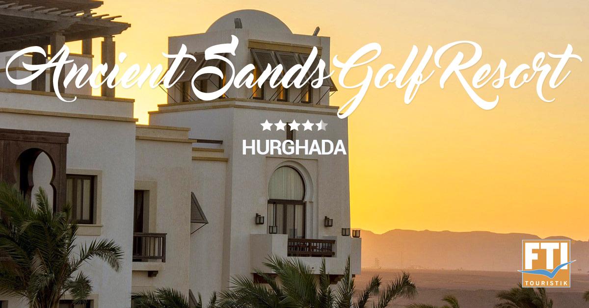 Ancient Sands Golf Resort - architektúra ťa dostane