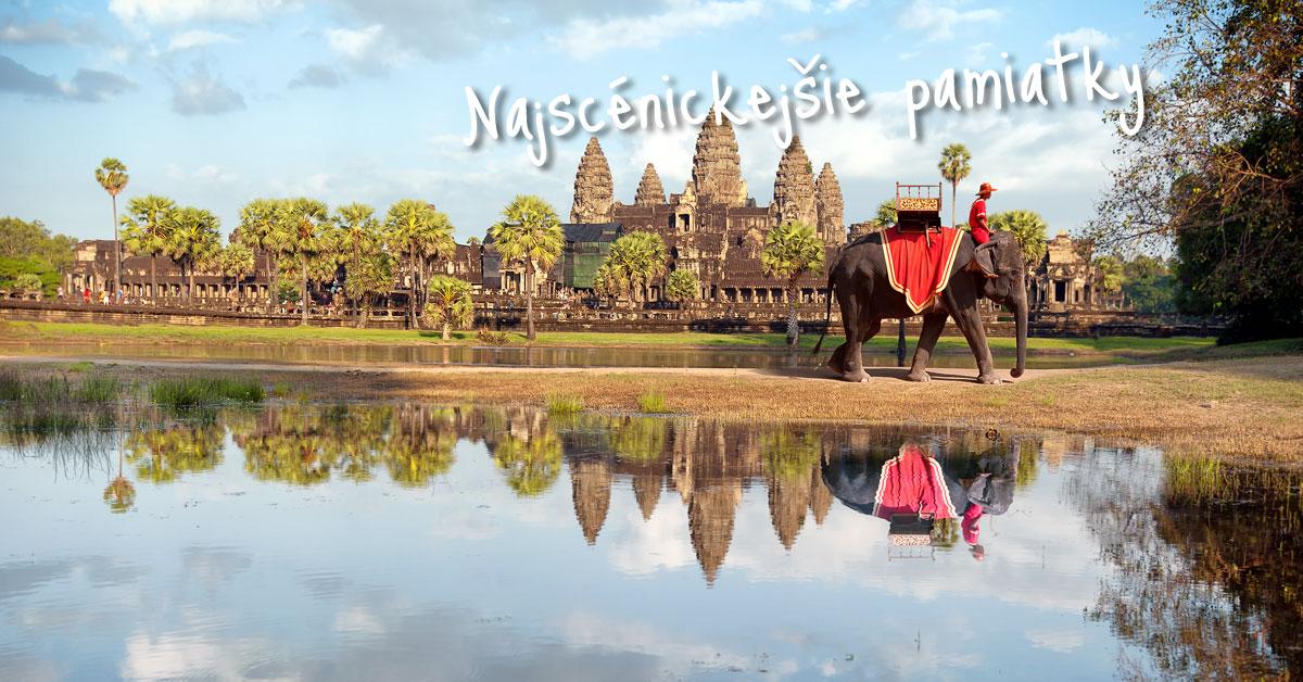 Angkor Wat - tajomné kráľovstvo Kambodže