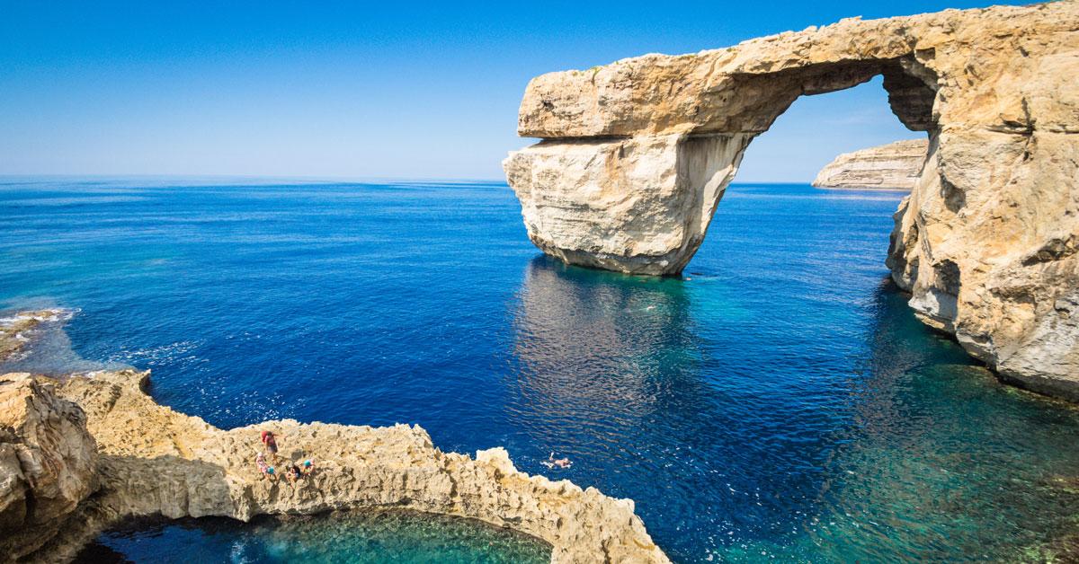 Azúrové okno na Malte je už iba minulosť