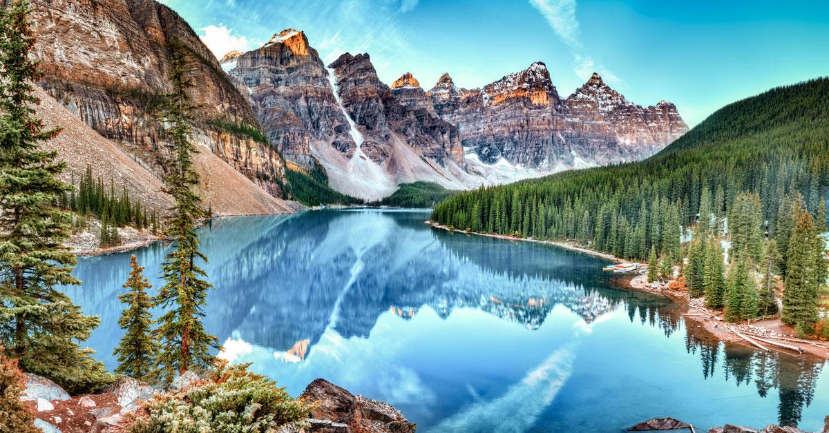 Banff - prírodná krása Kanady