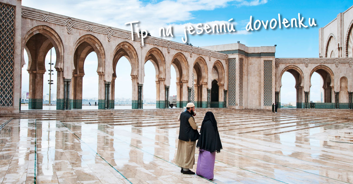Casablanca - biela dominanta Maroka
