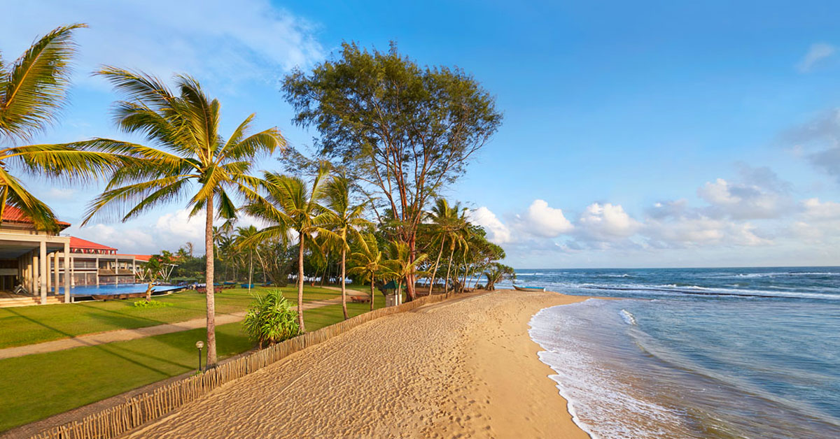 Hotel Cinamon Bey Beruwala - pláž