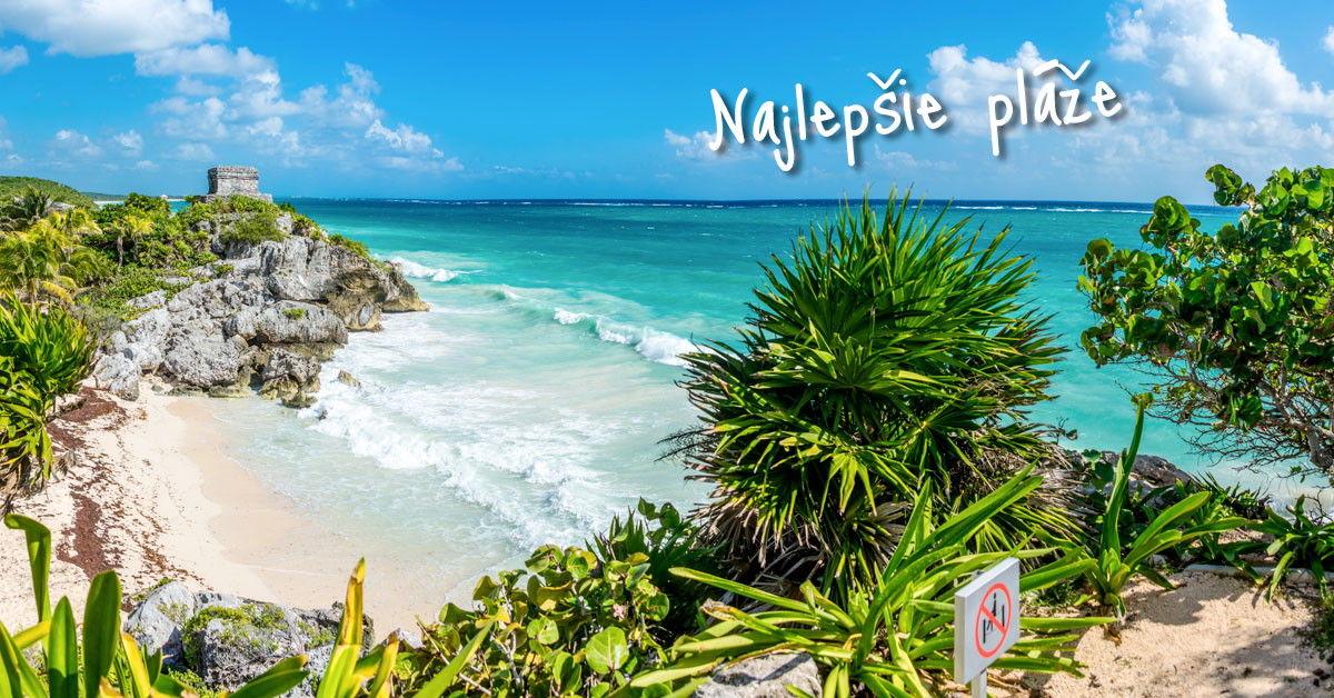 El Castillo - najznámejšia pláž Mayskej civilizácie