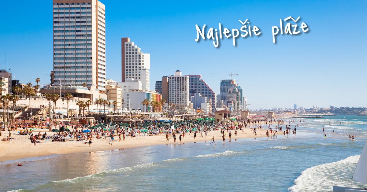 Gordon Beach - plážová pýcha Izraelu
