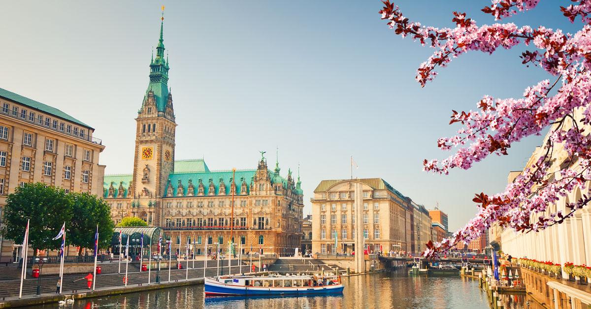 Hamburg - nemecké mesto mostov