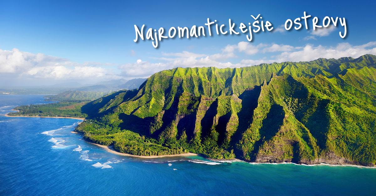 Havajský ostrov Kauai je ako stvorený na prechádzky