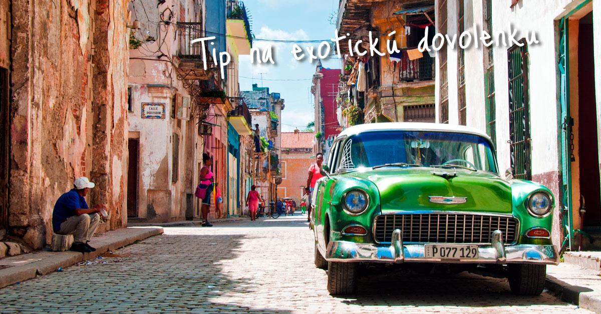 Havana - vášnivé mesto salsy a cigár