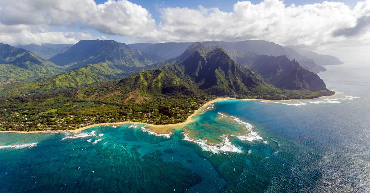 Kauai - ostrov, kde vznikol Jurský park
