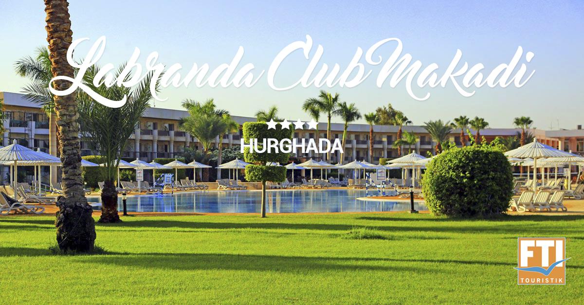 LABRANDA Club Makadi - luxus s cenou, ktorej neuveríš!