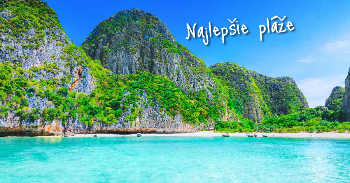 Maya Bay - slávna filmová pláž Thajska