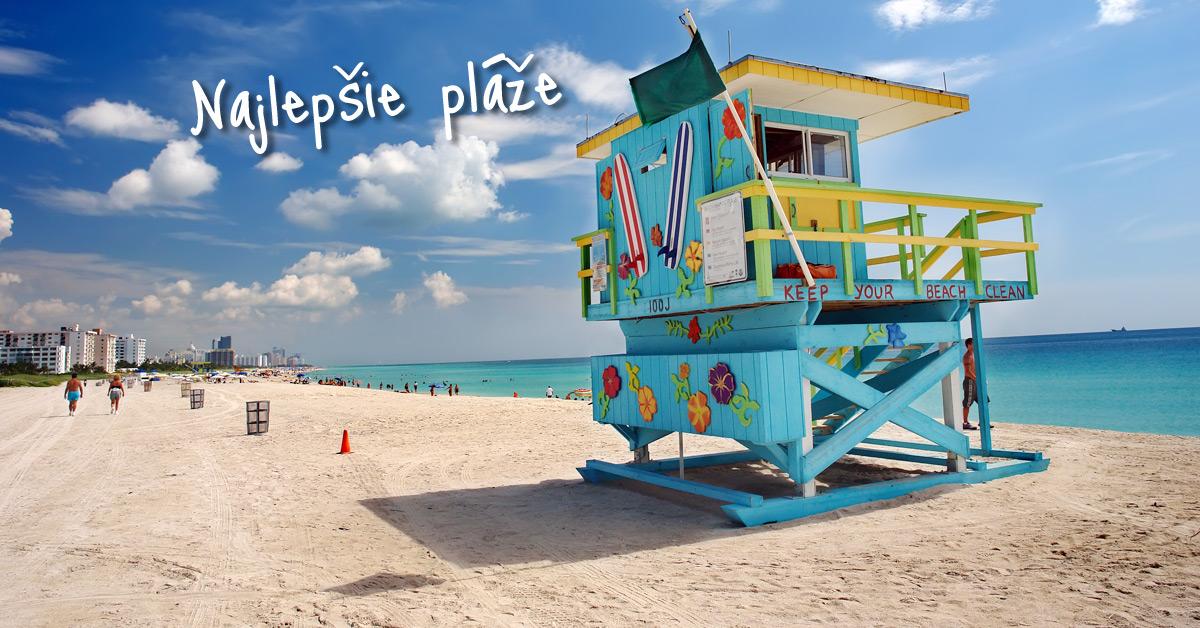 Miami South Beach - zachráni vás David Hasselhoff