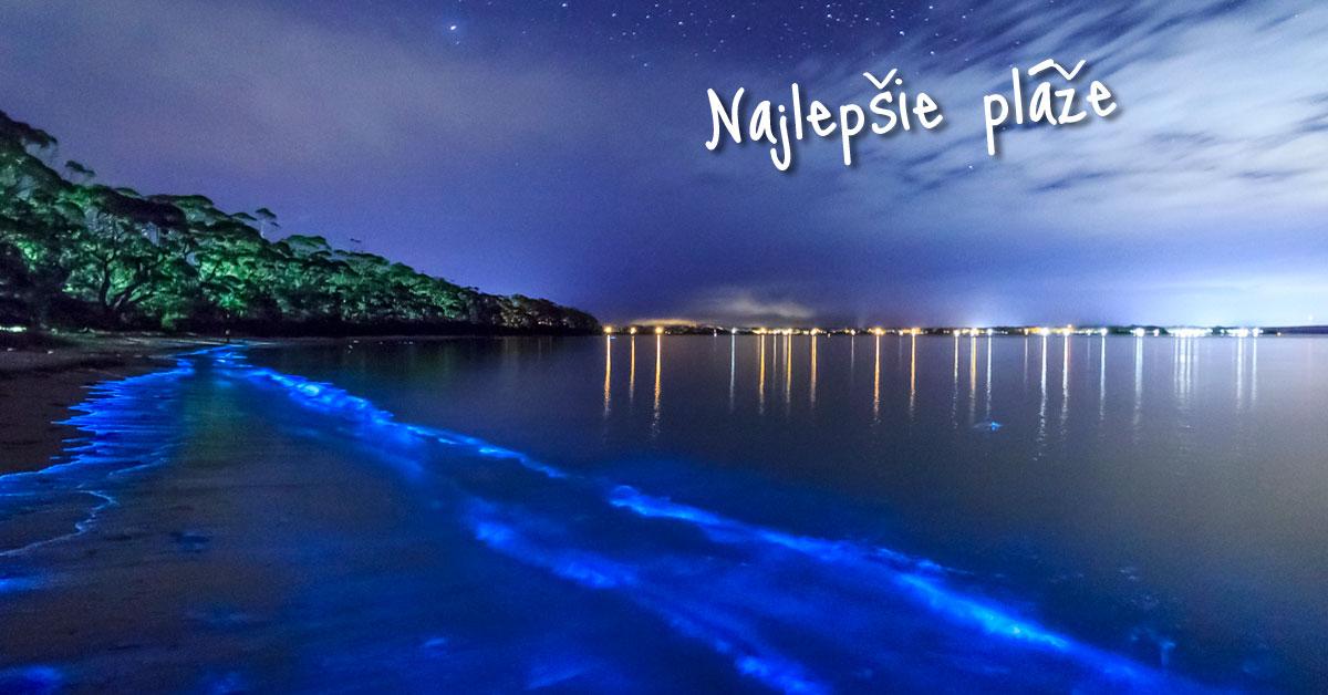 Mosquito Bay - modrý zázrak prírody