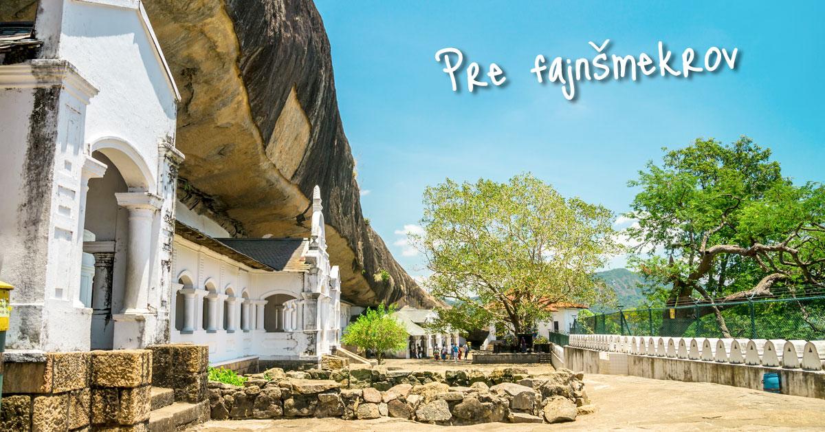 Mystický jaskynný chrám v meste Dambulla