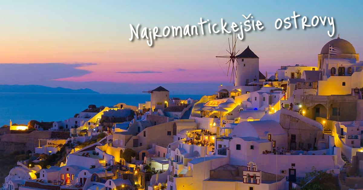 Ostrov s najkrajšími západmi slnka? No predsa grécky Santorin!