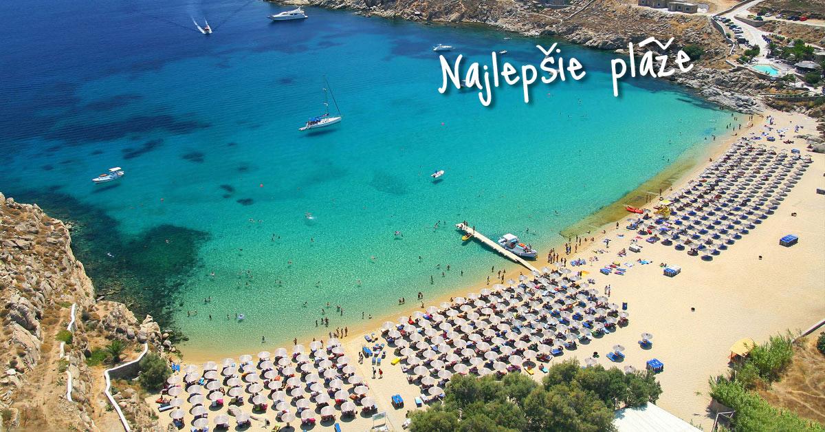 Paradise Beach - najväčšia grécka párty pláž