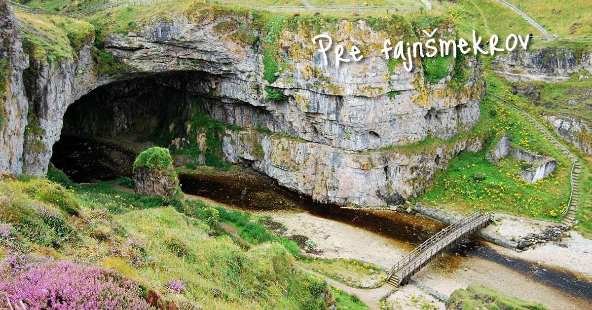 Škótska jaskyňa Smoo Cave